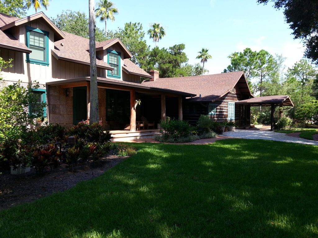 Safety Harbor S Little Log Cabin A Precious Piece Of