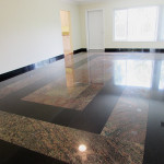 gorgeous marble flooring