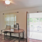 opens to screened patio