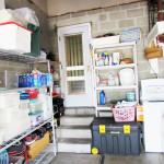 Garage to kitchen