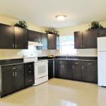 upgraded open kitchen