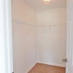 Huge walk-in closet in Master BR