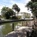 Canal takes you to Sarasota Bay
