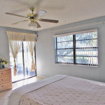 Master bedroom has golf course view too
